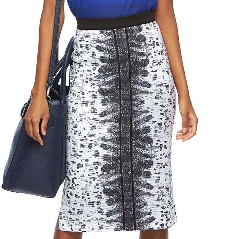 Women's REED Scuba Midi Pencil Skirt