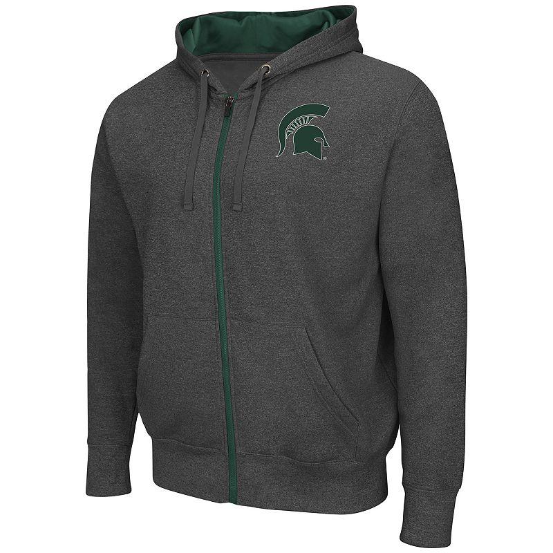 Big & Tall Campus Heritage Michigan State Spartans Renegade II Full-Zip Hoodie