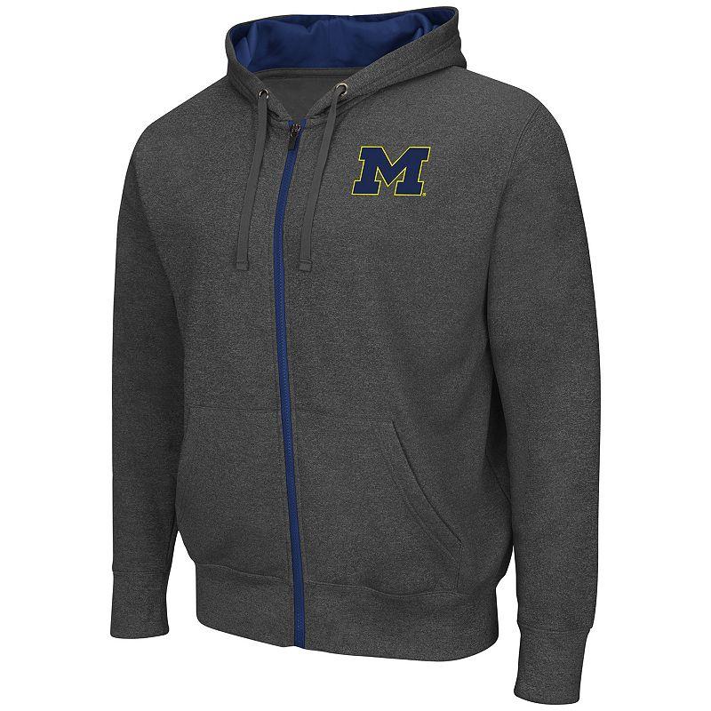 Big & Tall Campus Heritage Michigan Wolverines Renegade II Full-Zip Hoodie