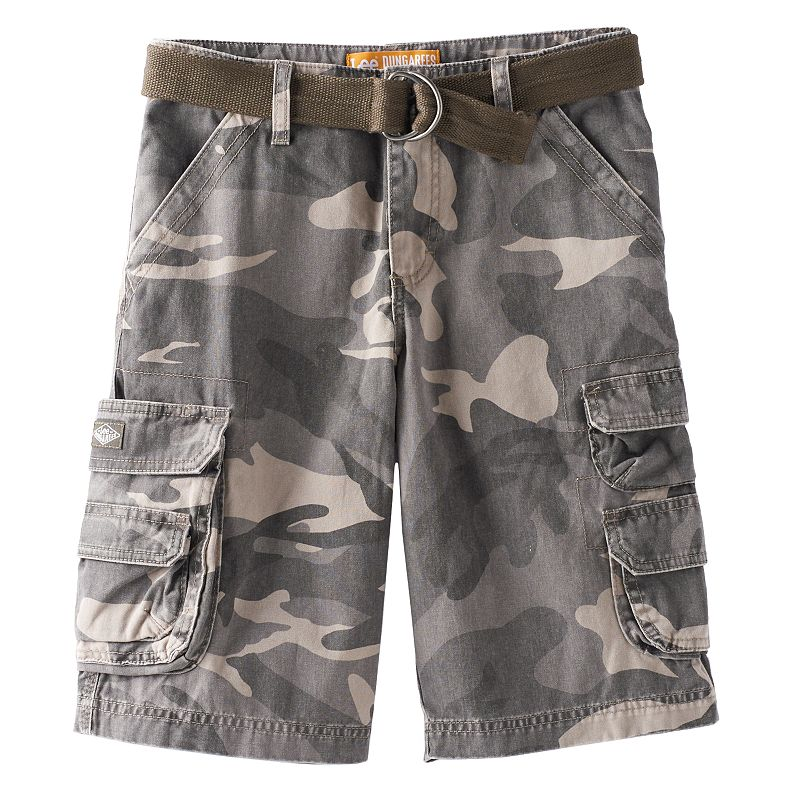 Boys 8-20 Lee Wyoming Camo Loose-Fit Cargo Shorts