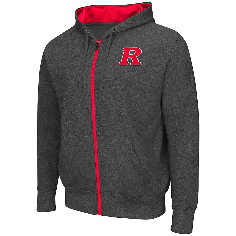 Big & Tall Campus Heritage Rutgers Scarlet Knights Renegade II Full-Zip Hoodie