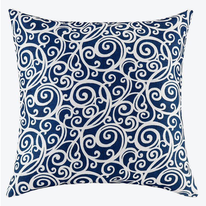 Madison Park Printed Scroll Pattern Throw Pillow