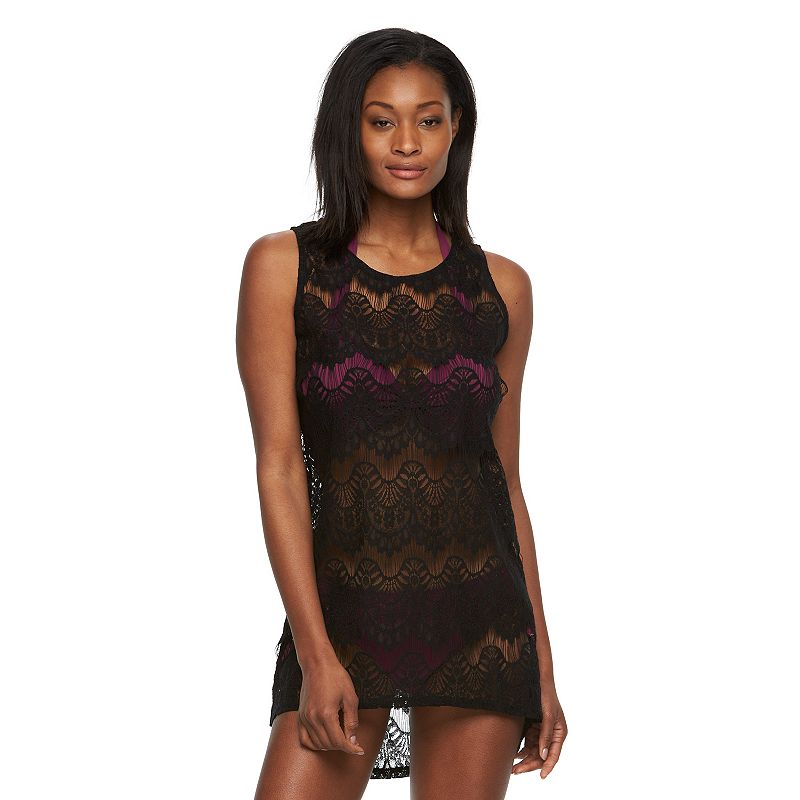 Women's Apt. 9® Lace Scoopneck Cover-Up