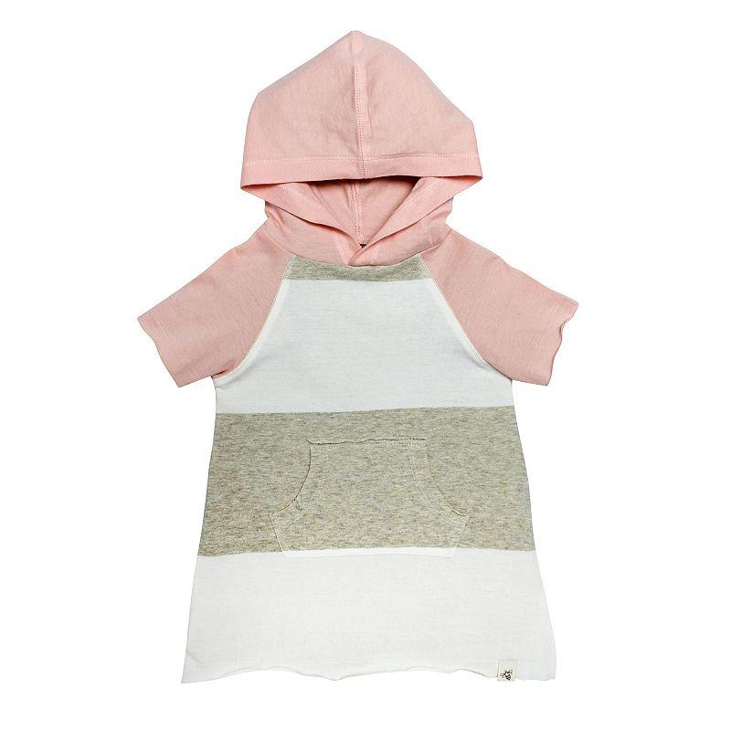 Baby Girl Burt's Bees Baby Organic Hooded Tunic
