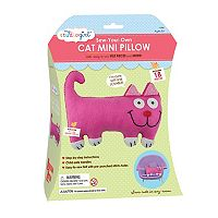 My Studio Girl Sew-Your-Own Cat Mini Pillow