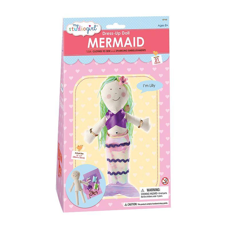 My Studio Girl Mermaid Dress-Up Doll