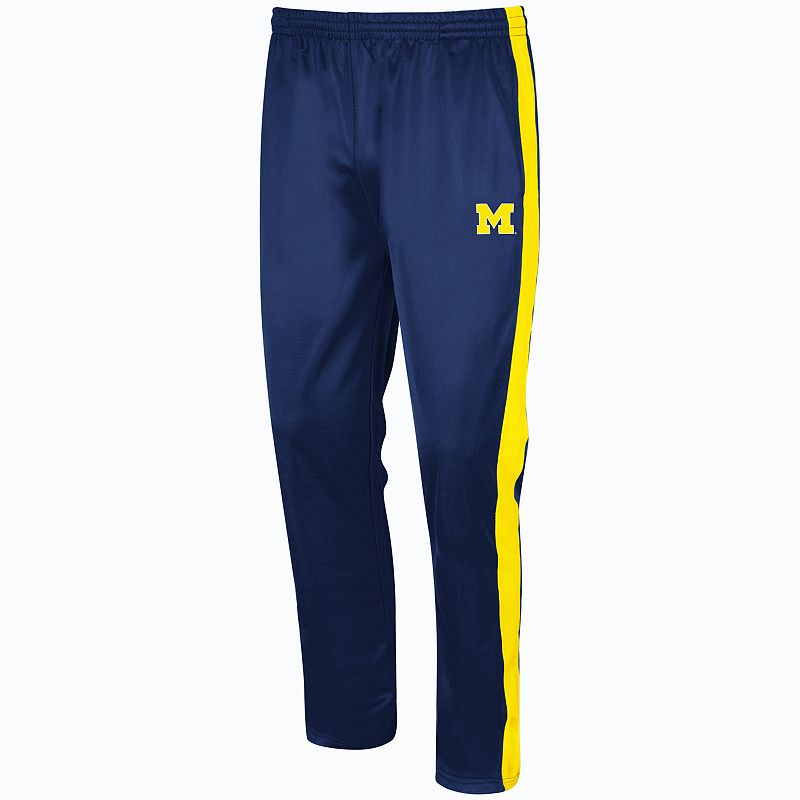 Big & Tall Campus Heritage Michigan Wolverines Rage Tricot Pants