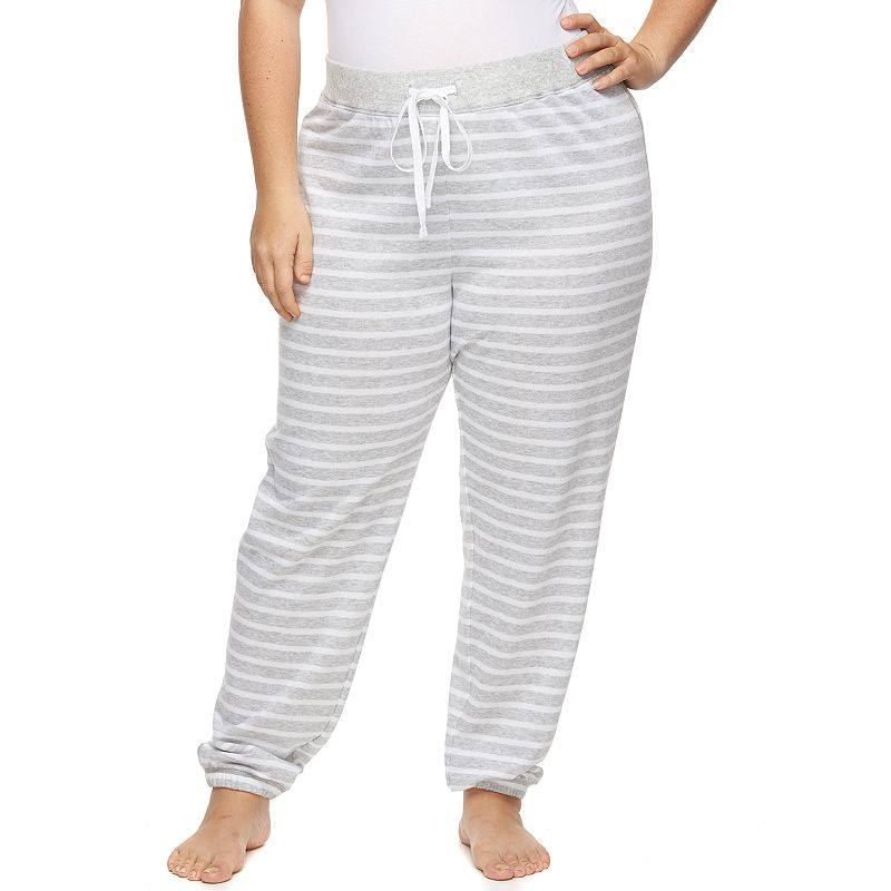 Plus Size SONOMA Goods for Life™ Pajamas: French Terry Lounge Pants