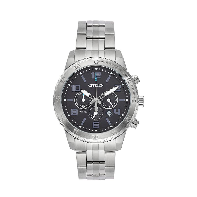 Citizen Men's Stainless Steel Chronograph Watch