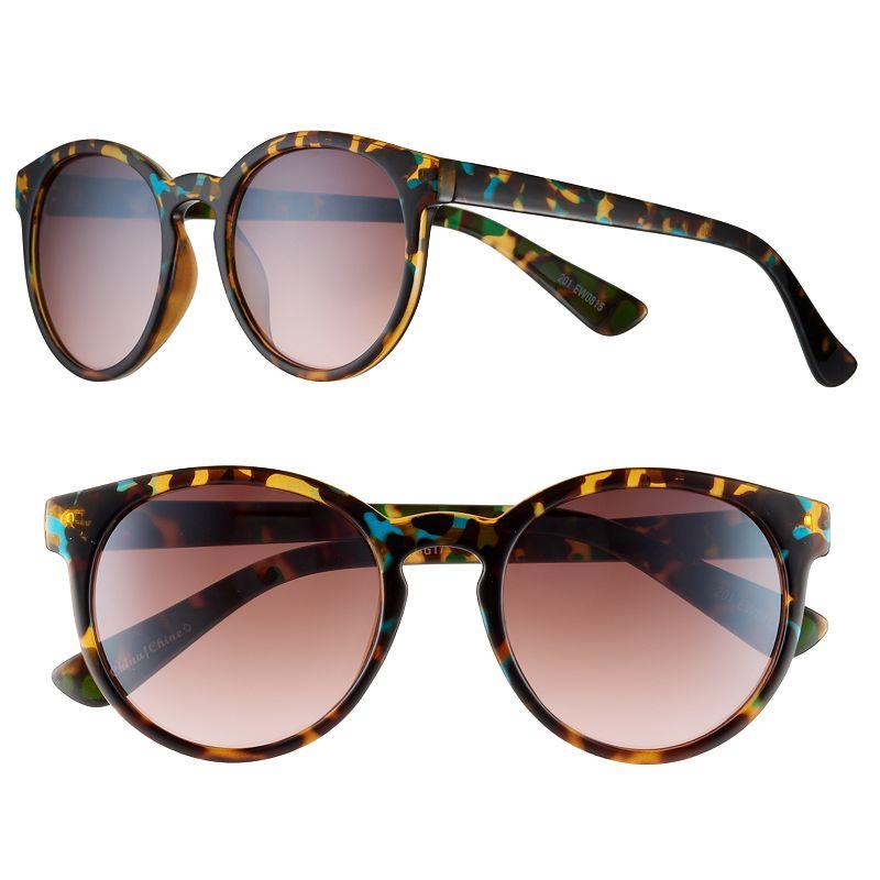 Women's SO® Retro Round Sunglasses