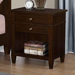 Simpli Home Carlton Nightstand by