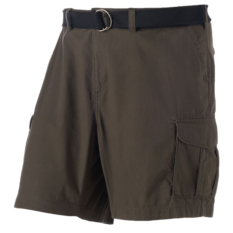 Big & Tall SONOMA Goods for Life™ Ripstop Belted Cargo Shorts