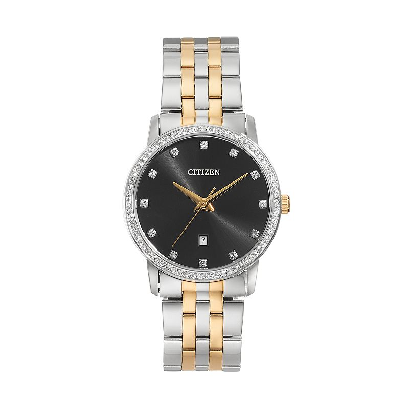 Citizen Men's Crystal Two Tone Stainless Steel Watch - BI5034-51E