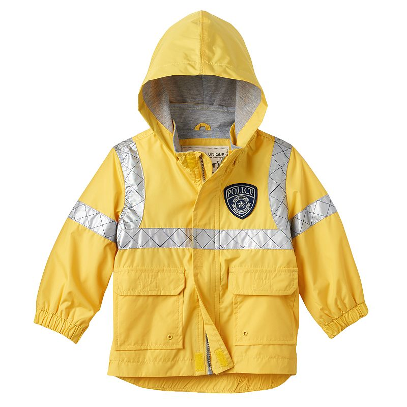 Boys 4-7 Carter's Reflective Police Rain Jacket