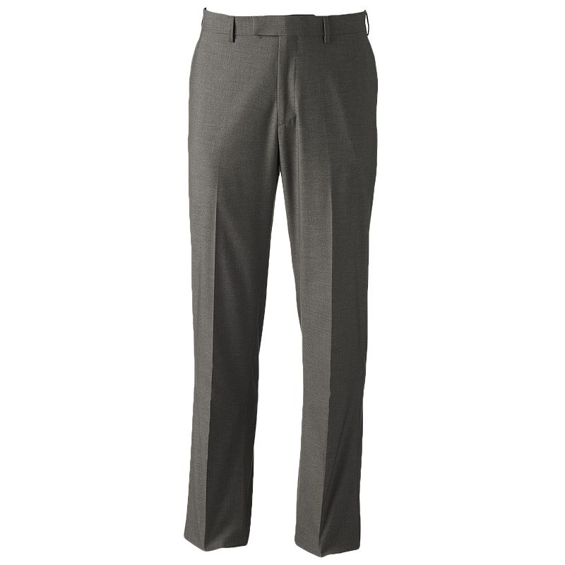 Men's Savane Premium Flex Tailored-Fit No-Iron Dress Pants