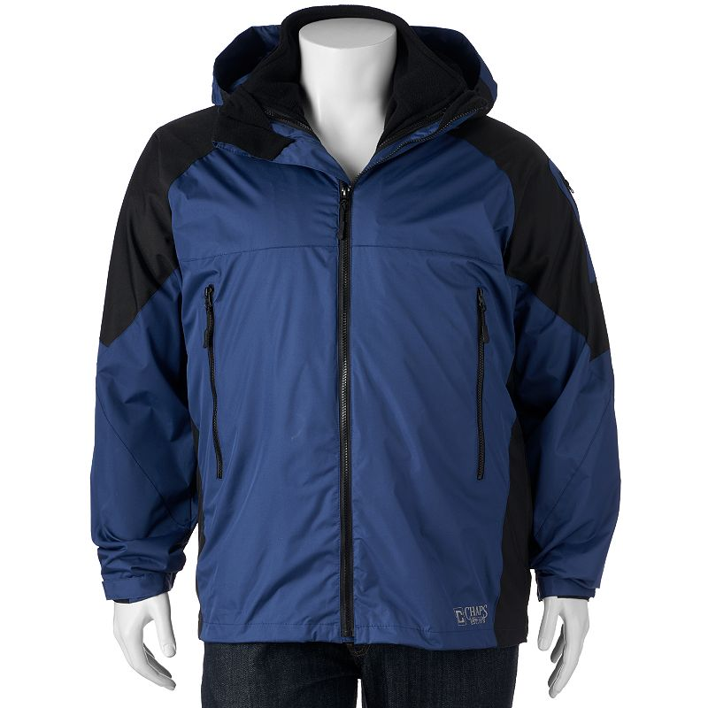Big & Tall Excelled Classic-Fit Colorblock 3-in-1 Systems Jacket