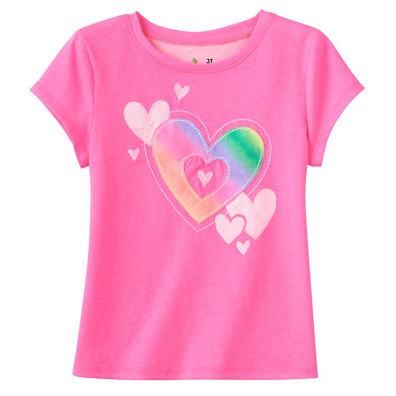 Toddler Girl Jumping Beans® Applique Tee