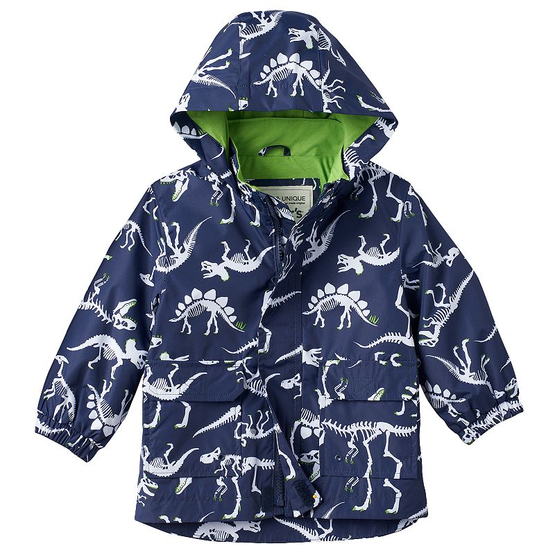 Boys 4-7 Carter's Dinosaur Rain Jacket