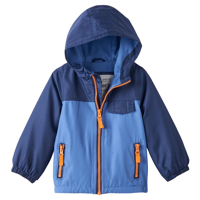 Boys 4-7 Carter's Fleece-Lined Windbreaker Jacket