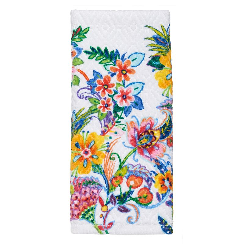Celebrate Summer Together Printed Tropical Hand Towel