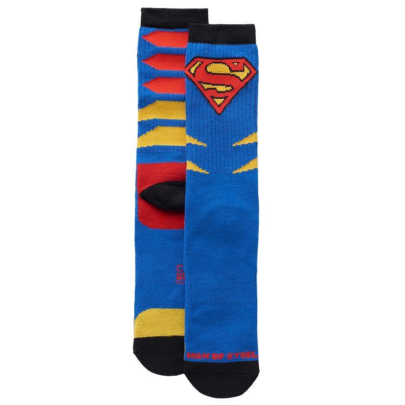 Men's DC Comics Superman Athletic Crew Socks