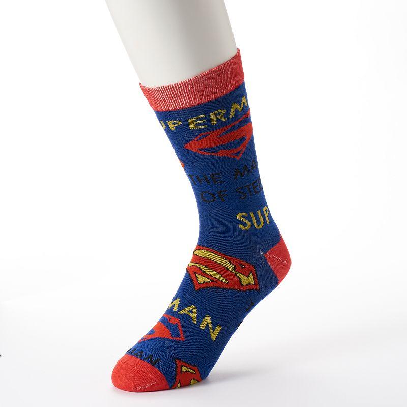 Men's DC Comics Superman Crew Socks
