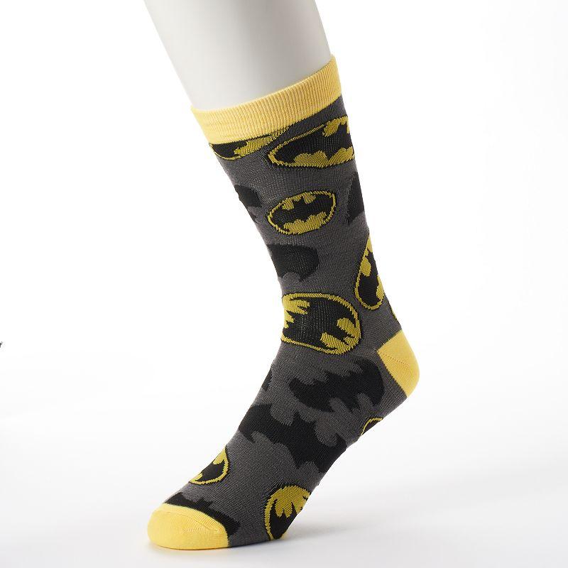 Men's DC Comics Batman Crew Socks