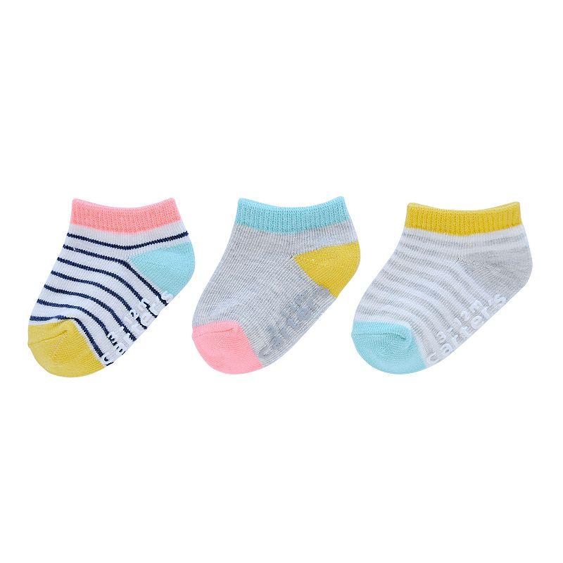 Girls Carter's 3-pk. Striped Socks