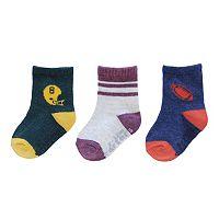 Baby / Toddler Boy Carter's 3-pk. Football Socks