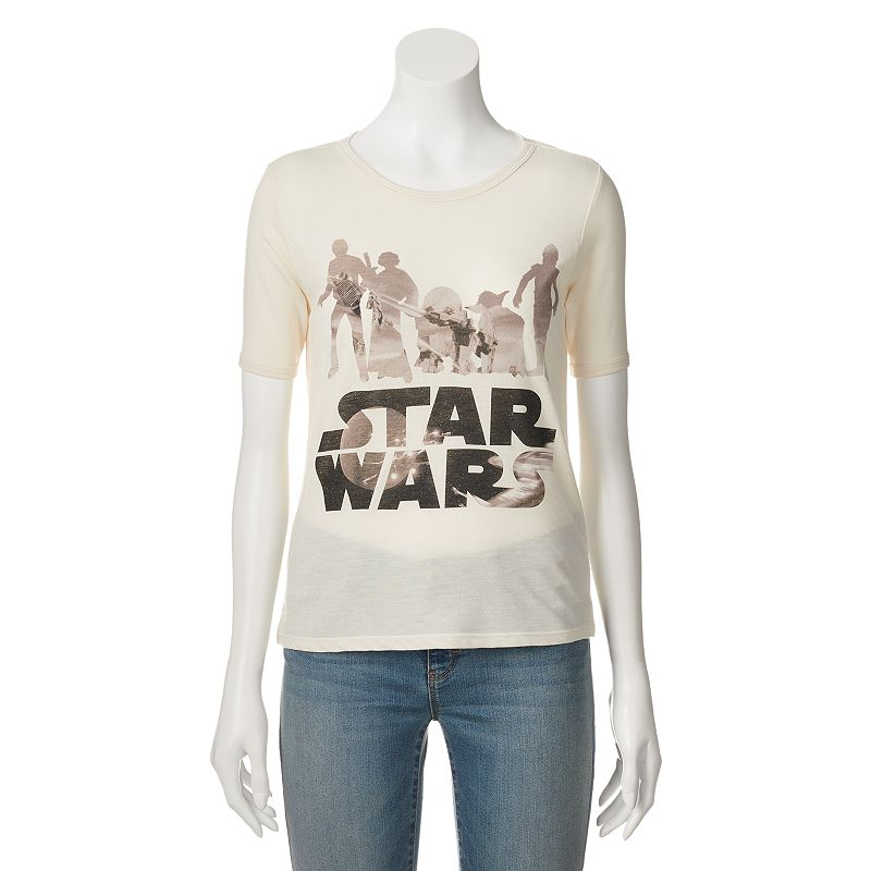 Juniors' Star Wars Photo T-Shirt