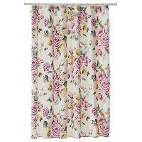 LC Lauren Conrad Rose Garden Shower Curtain