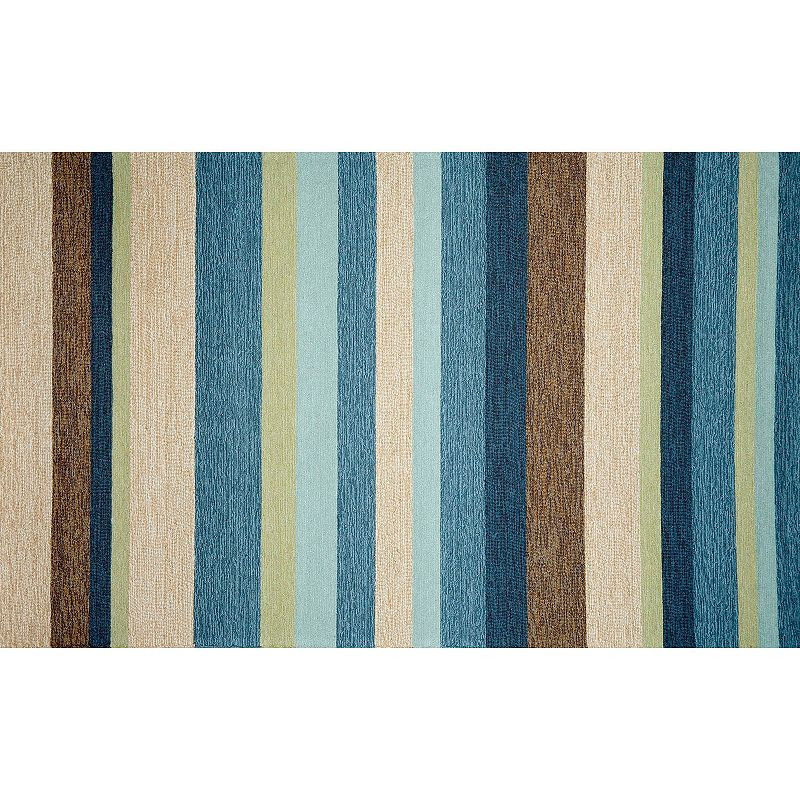Trans Ocean Imports Liora Manne Ravella Striped Indoor Outdoor Rug