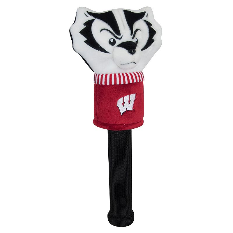 Team Effort Wisconsin Badgers Mascot Sock Driver Headcover, Multi/None
