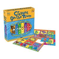 Crayons on the Town Board Game by Briarpatch