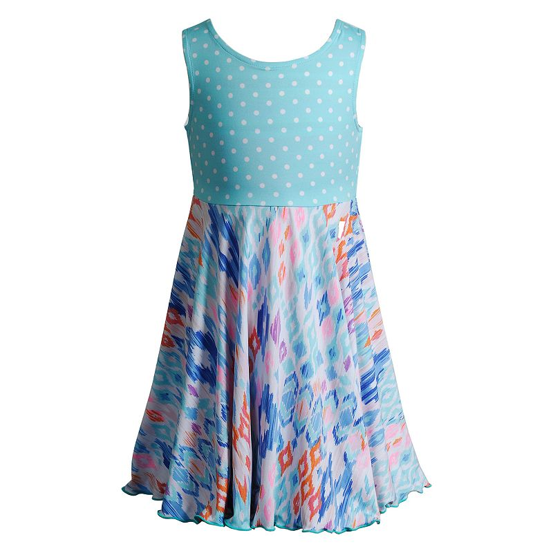 Girls 4-6x Emily West Flip & Twirl Reversible Polka-Dot Floral Dress
