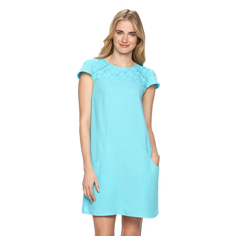 Women's LC Lauren Conrad Floral Lace Shift Dress