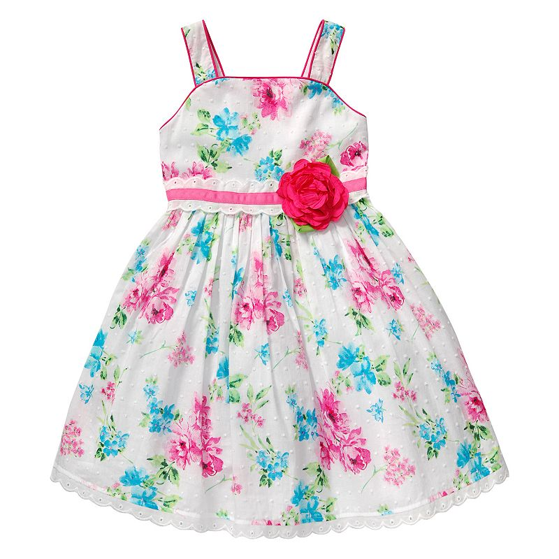 Girls 4-6x Youngland Woven Floral Dress