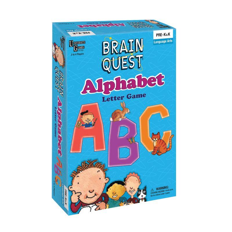 Brain Quest Alphabet Letter Game by University Games, Multicolor thumbnail