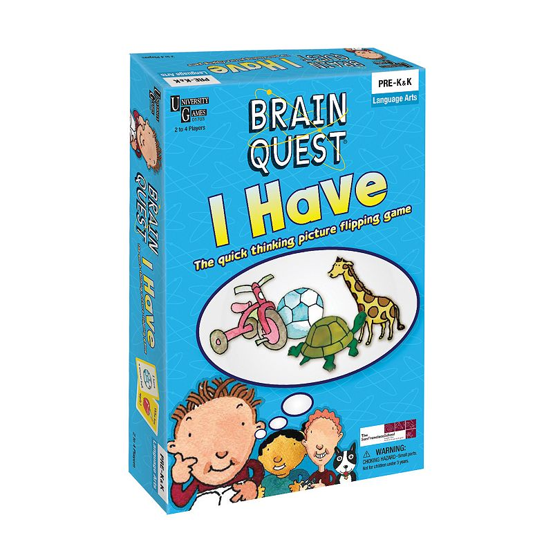 University Games Brain Quest I Have Game