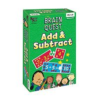 University Games Brain Quest Add & Subtract Game