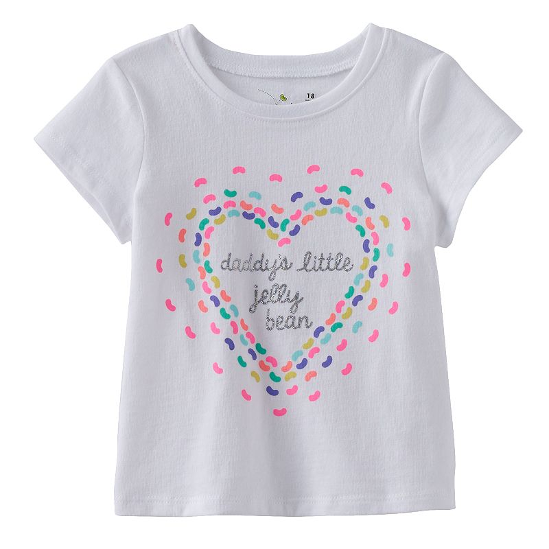 Baby Girl Jumping Beans® Easter Tee