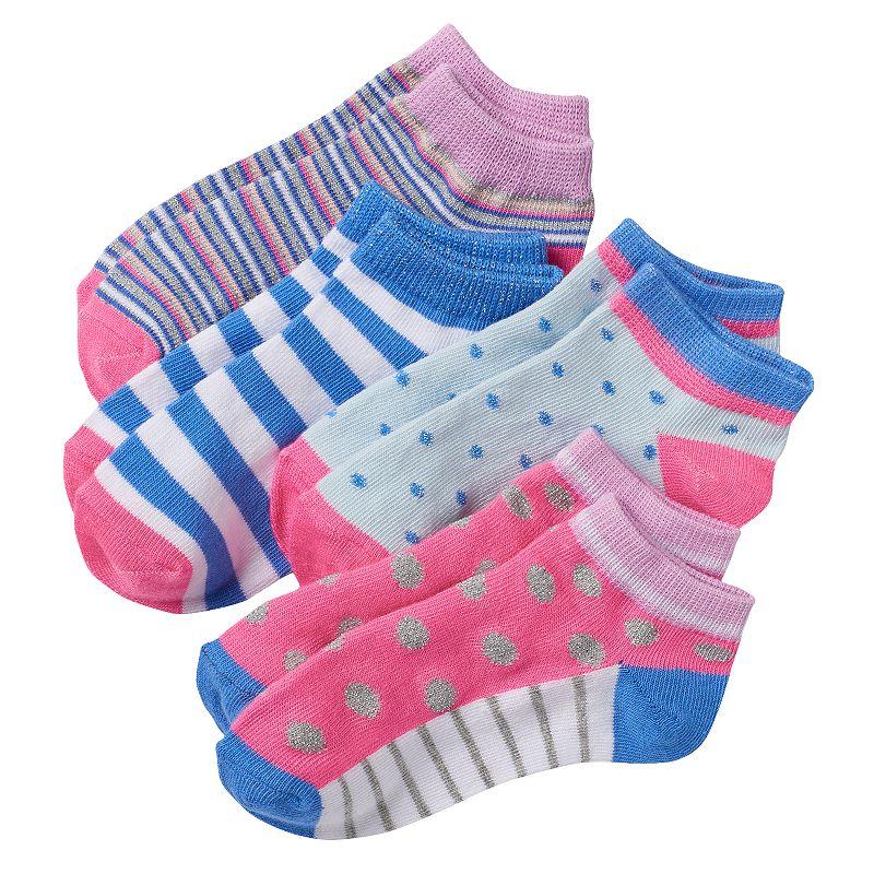 Girls Trimfit 4-pk. Low-Cut Socks