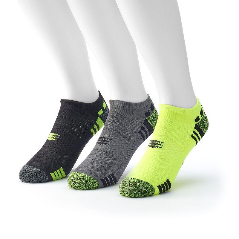 Men's PowerSox by GOLDTOE 3-Pack No Show Socks