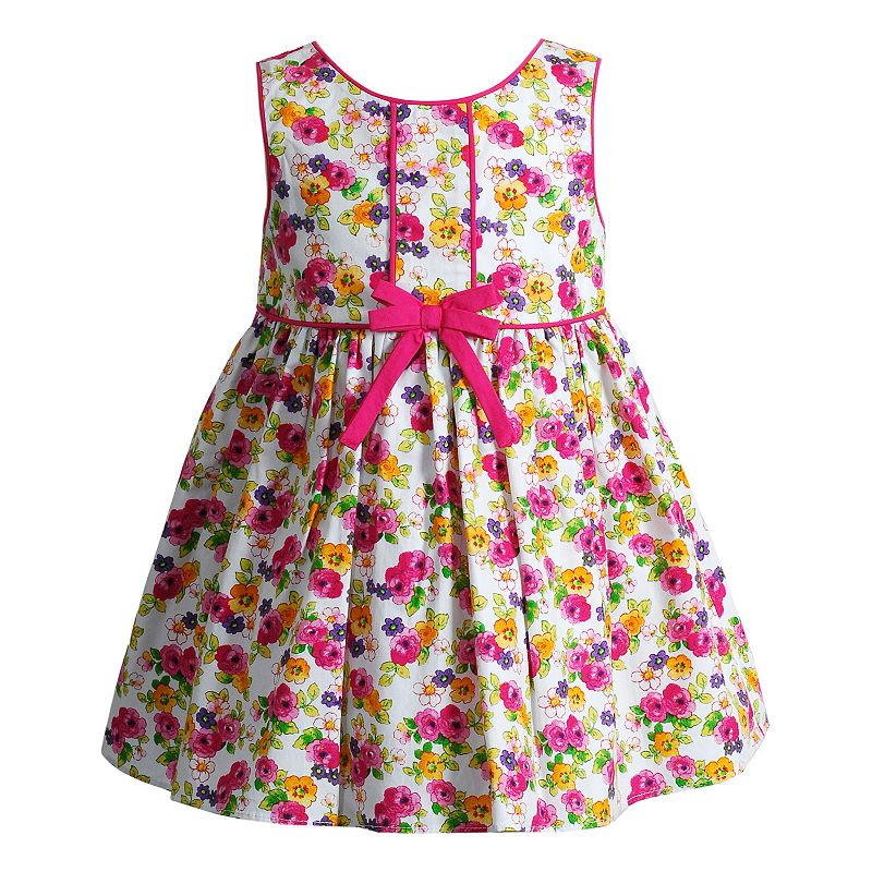 Baby Girl Youngland Floral Bow Dress