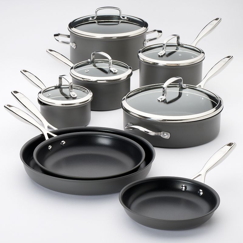 Food Network™ 13-pc. Hard-Anodized Nonstick Aluminum Cookware Set