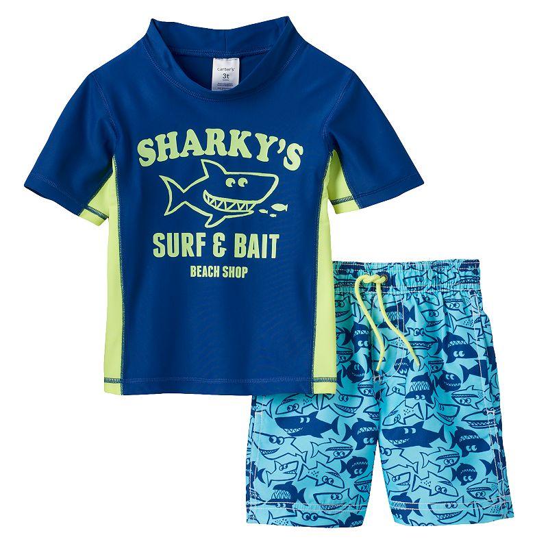 Baby Boy Carter's Shark