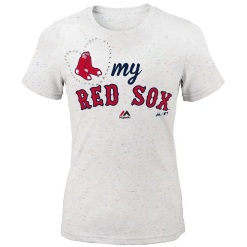 Girls 7-16 Majestic Boston Red Sox My Heart Tee