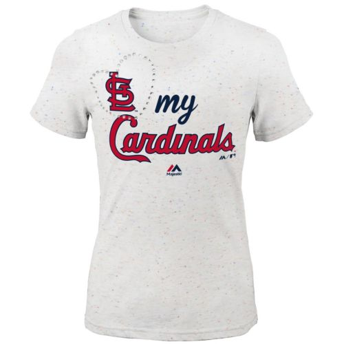 Girls 7-16 Majestic St. Louis Cardinals My Heart Tee