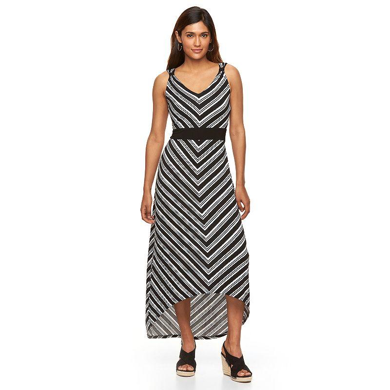 Petite Apt. 9® High-Low Empire Maxi Dress