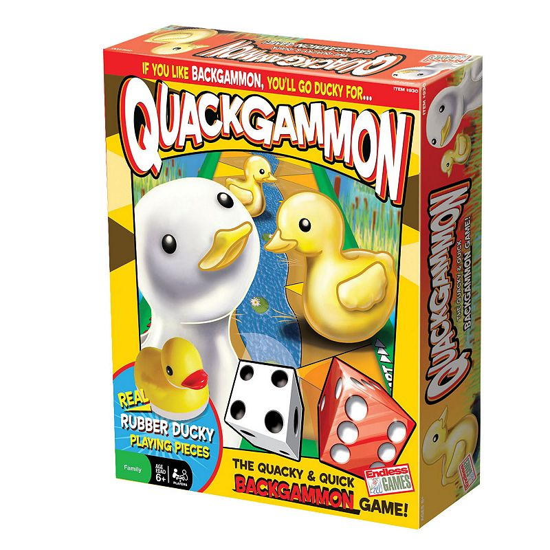 Quackgammon Game by Endless Games
